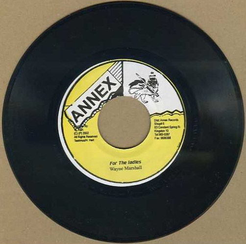 "vinyl 7""SP WAYNE MARSHALL For The Ladies"