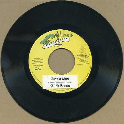 "vinyl 7""SP CHUCK FENDA Just a man"