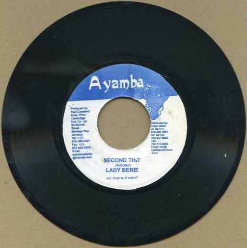 "vinyl 7""SP LADY BEREZ Second that"