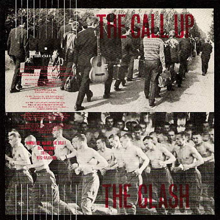 "vinyl 7""SP THE CLASH Call Up"