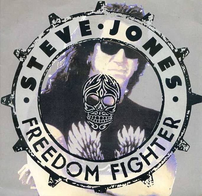 "vinyl 7""SP STEVE JONES Freedom Fighter"