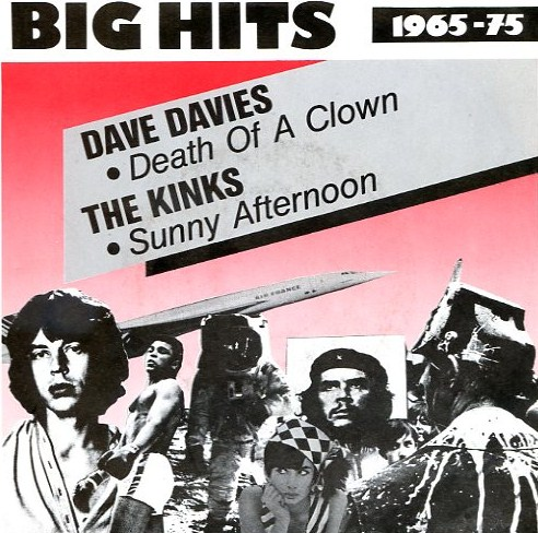 "vinyl 7""SP DAVE DAVIES Death Of A Clown"