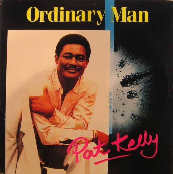 vinyl LP PAT KELLY Ordinary Man