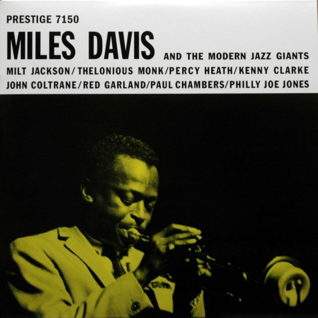 vinyl LP MILES DAVIS At The Modern Jazz Giants