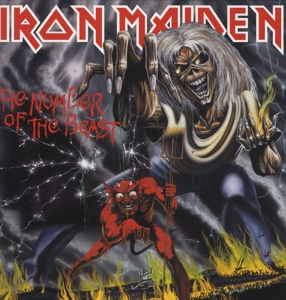 vinyl LP IRON MAIDEN THE NUMBER OF THE BEAST - LIMITED