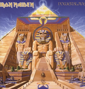 vinyl LP IRON MAIDEN POWERSLAVE (LIMITED)