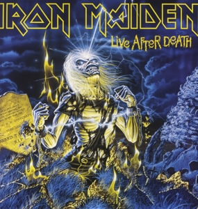 vinyl LP IRON MAIDEN LIVE AFTER DEATH (LIMITED)