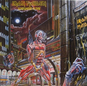 vinyl LP IRON MAIDEN SOMEWHERE IN TIME (LIMITED)