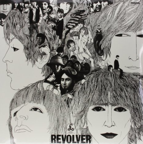 vinyl LP THE BEATLES in Mono - Revolver