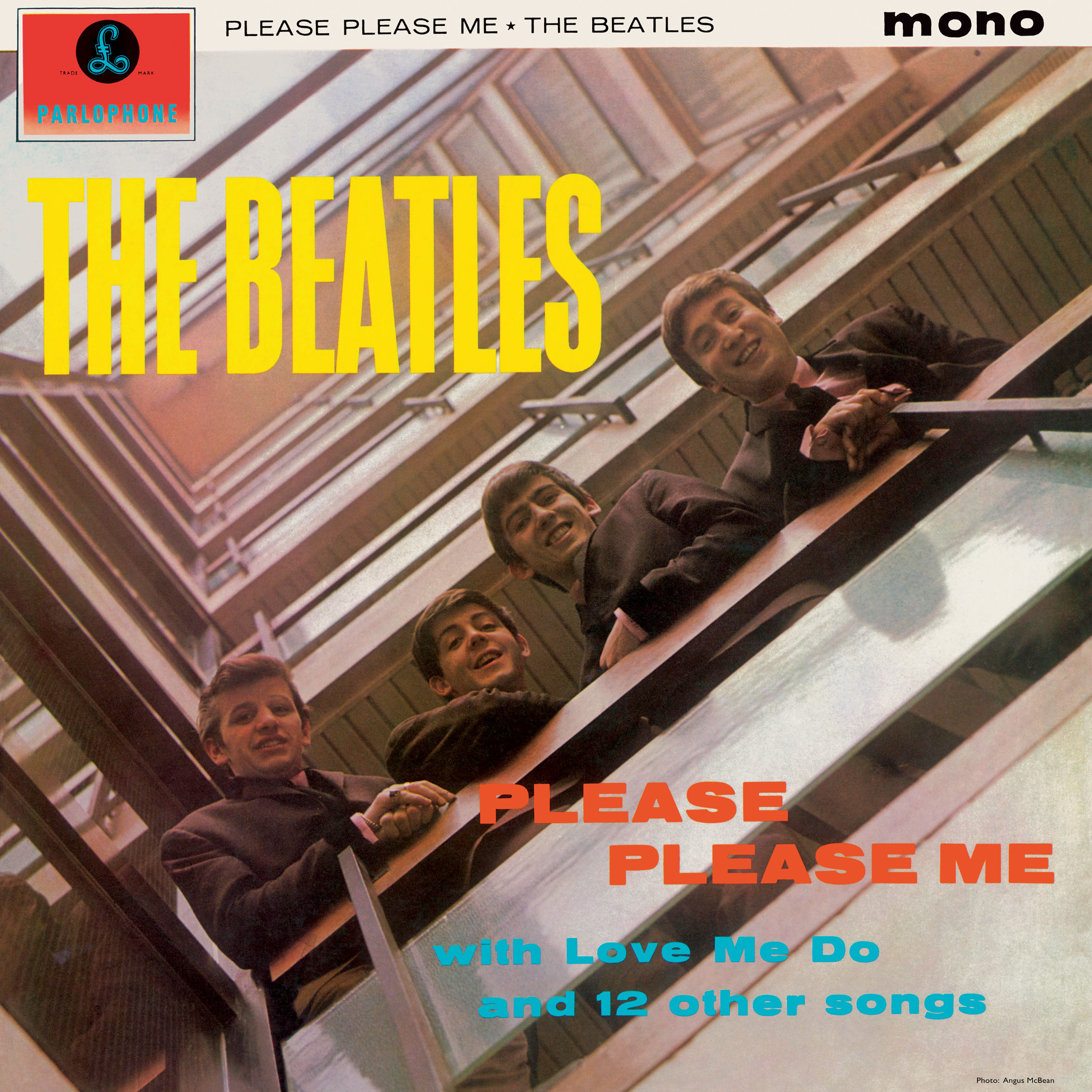 vinyl LP THE BEATLES in Mono - Please Please Me