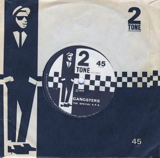 "7""SP THE SPECIALS/THE SELECTER - Gangsters/The Selecter"
