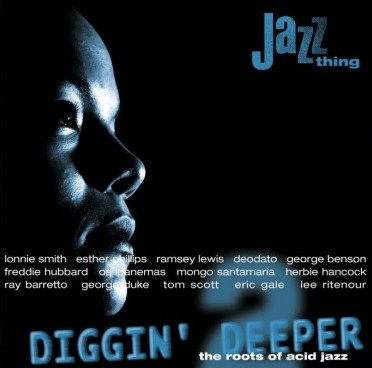 vinyl 2LP DIGGIN´DEEPER The Roots Of Acid Jazz volume II