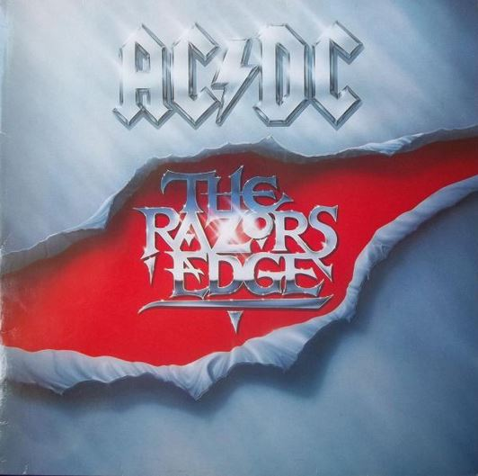vinyl LP AC/DC ‎The Razors Edge