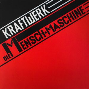 vinyl LP KRAFTWERK THE MAN MACHINE (2009 EDITION)
