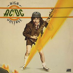 vinyl LP AC/DC High Voltage