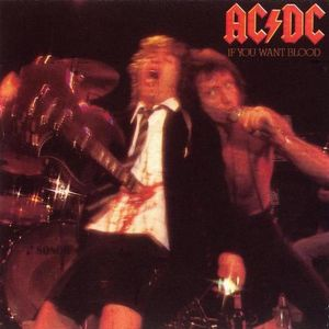 vinyl LP AC/DC If You Want Blood You've Got It