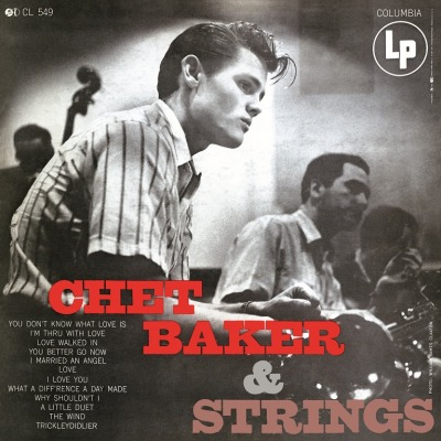 vinyl LP CHET BAKER & Strings