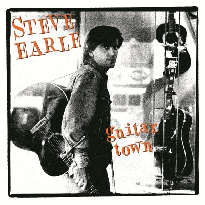 vinyl LP STEVE EARLE Guitar Town