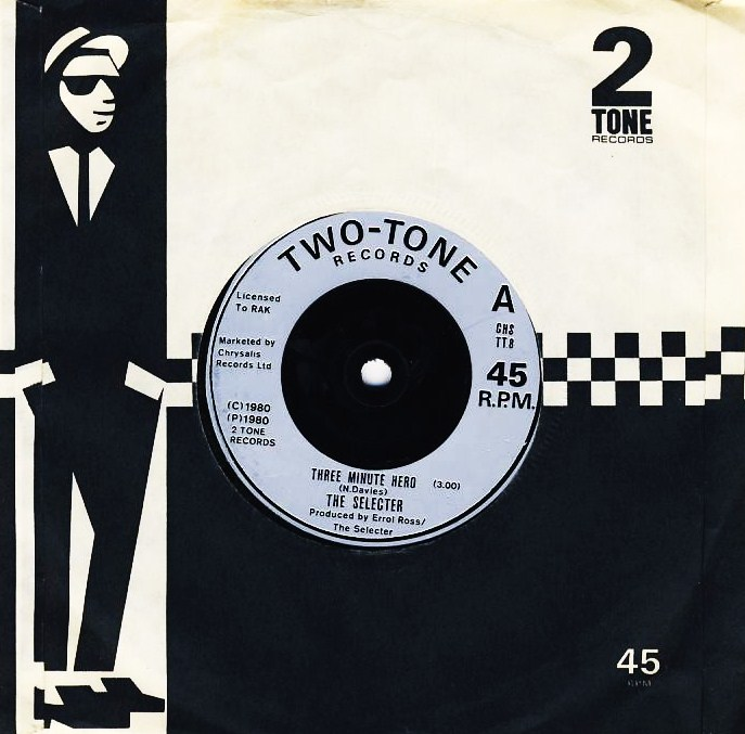 "7""SP THE SELECTER - Three Minute Hero"