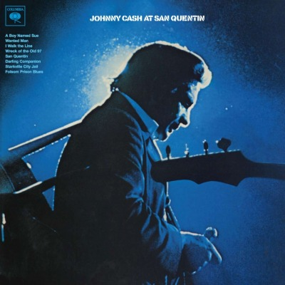 vinyl LP JOHNNY CASH At San Quentin