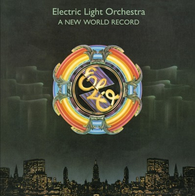 vinyl LP ELECTRIC LIGHT ORCHESTRA A New World Record
