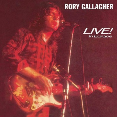 vinyl LP RORY GALLAGHER Live In Europe