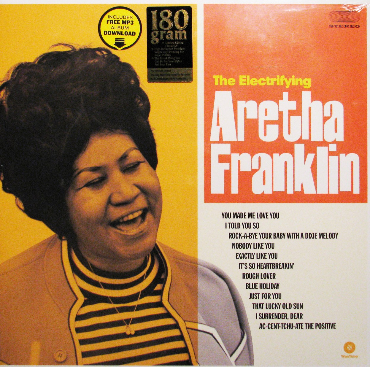 vinyl LP ARETHA FRANKLIN The Electrifying