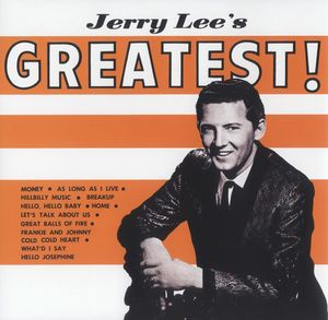 vinyl LP JERRY LEE Jerry Lee´s Greatest