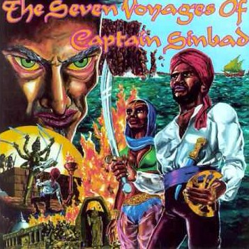 vinyl LP CAPTAIN SINDIBAD The Seven Voyages