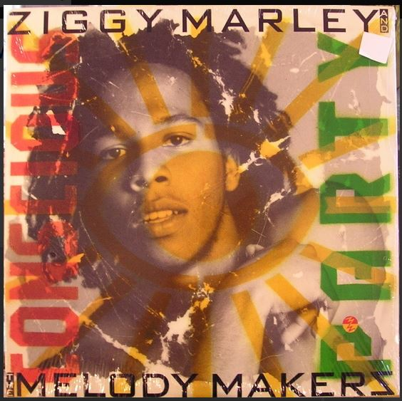 vinyl LP ZIGGY MARLEY and THE MELODY MAKER Concious Party