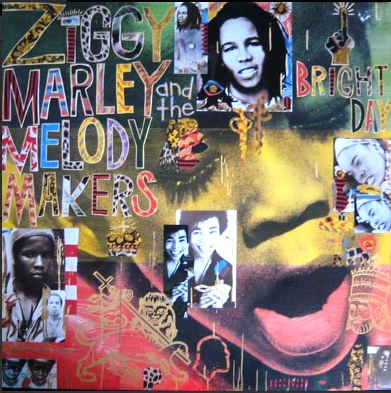 vinyl LP ZIGGY MARLEY and THE MELODY MAKER Bright Day