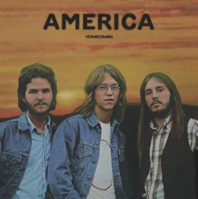 vinyl LP AMERICA Home Coming