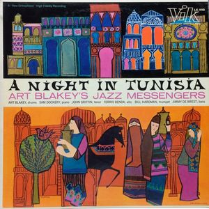 vinyl LP ART BLAKEY AND THE JAZZ MESSENGERS A Night In Tunisia