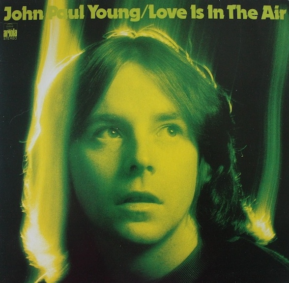 vinyl LP JOHN PAUL YOUNG Love Is In The Air