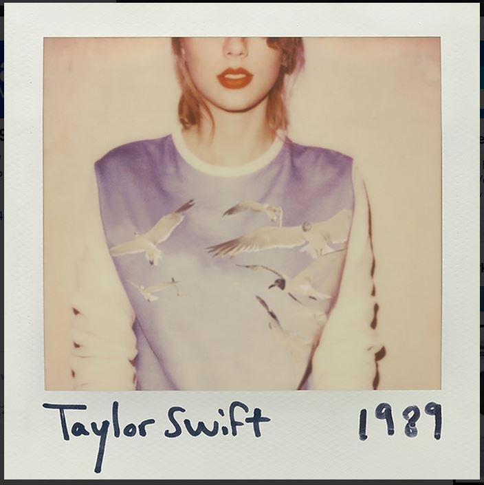 vinyl 2LP TAYLOR SWIFT 1989