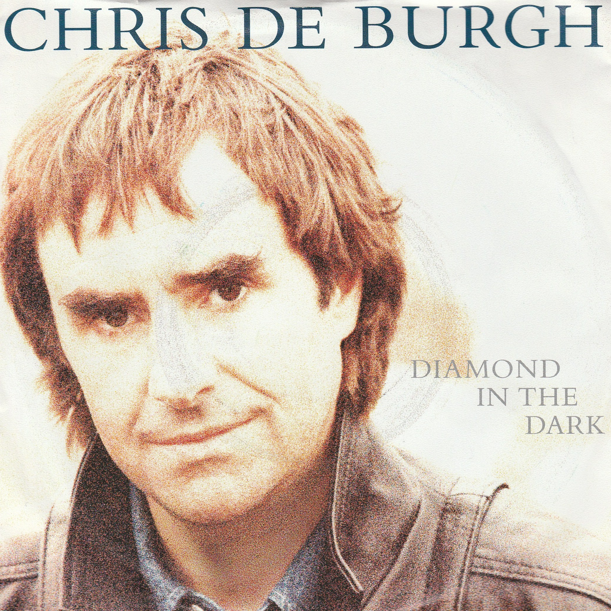 "vinyl 7""SP CHRIS DE BURGH Diamond In The Dark"