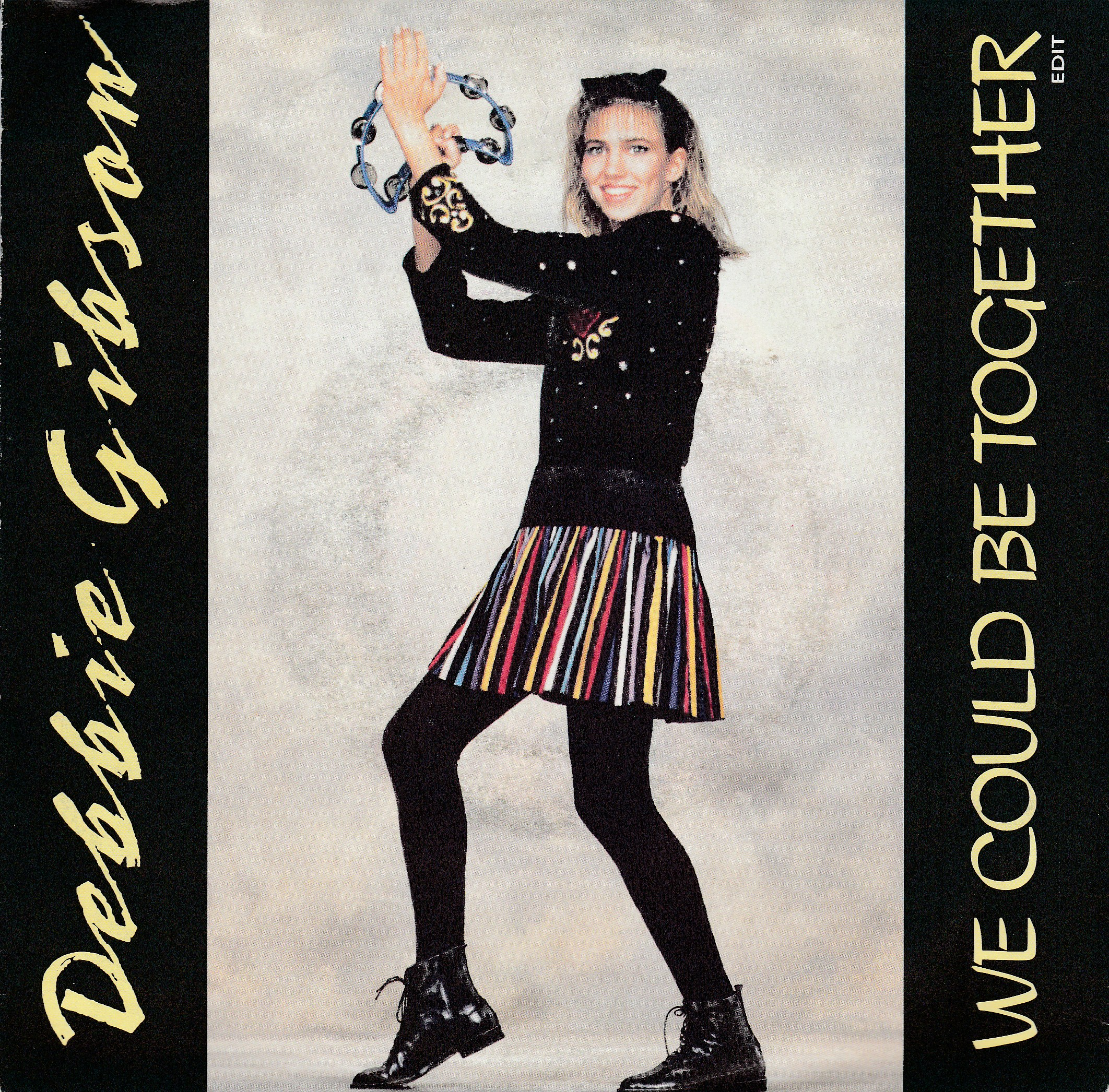 "vinyl 7""SP DEBBIE GIBSON We Could Be Together"