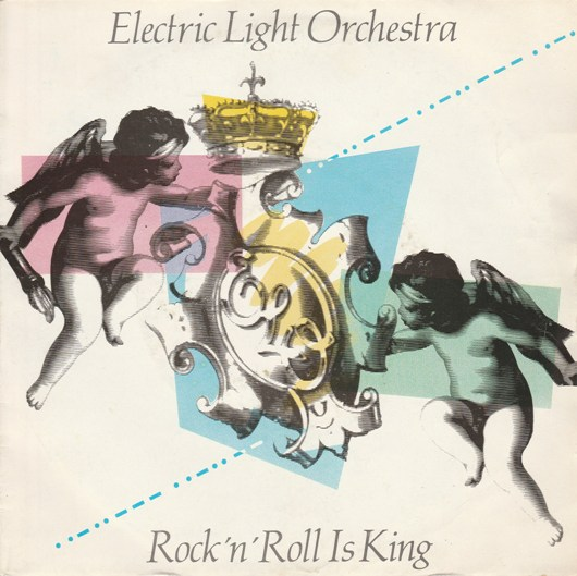 "vinyl 7""SP ELECTRIC LIGHT ORCHESTRA Rock´n´Roll Is King"