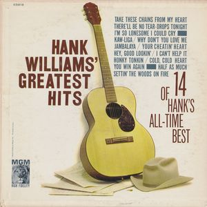 vinyl LP HANK WILLIAMS Greatest Hits
