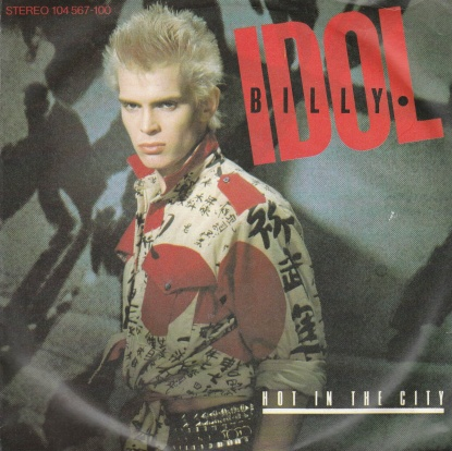 "vinyl 7""SP BILLY IDOL Hot In The City"