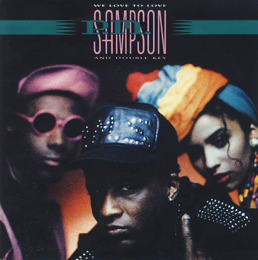 "vinyl 7""SP P.M. SAMPSON & DOUBLE KEY We Love To Love"