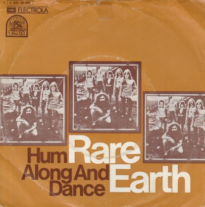 "vinyl 7""SP RARE EARTH Hum Along And Dance"