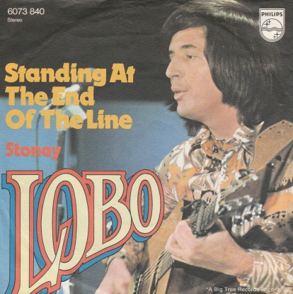 "vinyl 7""SP LOBO Standing At The End Of The Line"
