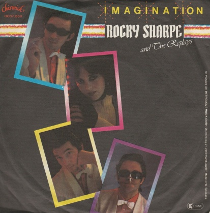 "vinyl 7""SP ROCKY SHARPE AND THE REPLAYS Imagination"