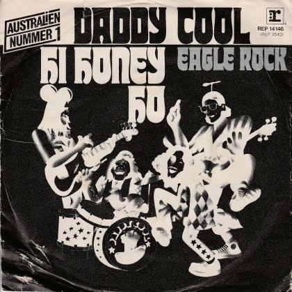 "vinyl 7""SP DADDY COOL Eagle Rock"