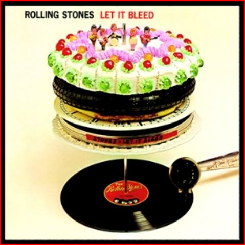 vinyl LP THE ROLLING STONES Let It Bleed