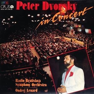 vinyl 2LP PETER DVORSKÝ In Concert