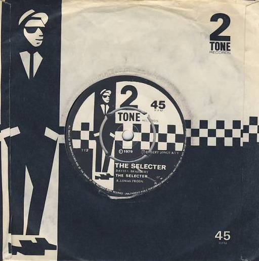 "7""SP THE SPECIALS/THE SELECTER - Gangsters/The Selecter/perform centre"