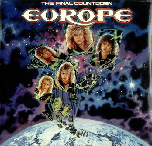 vinyl LP EUROPE The Final Countdown