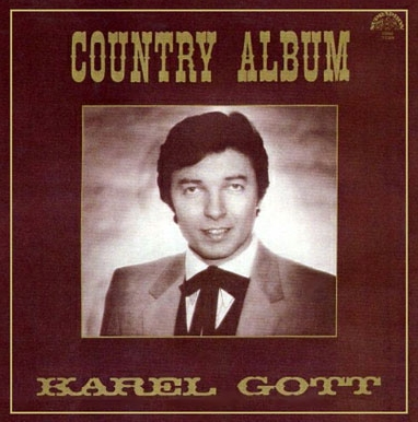 vinyl LP KAREL GOTT Country Album